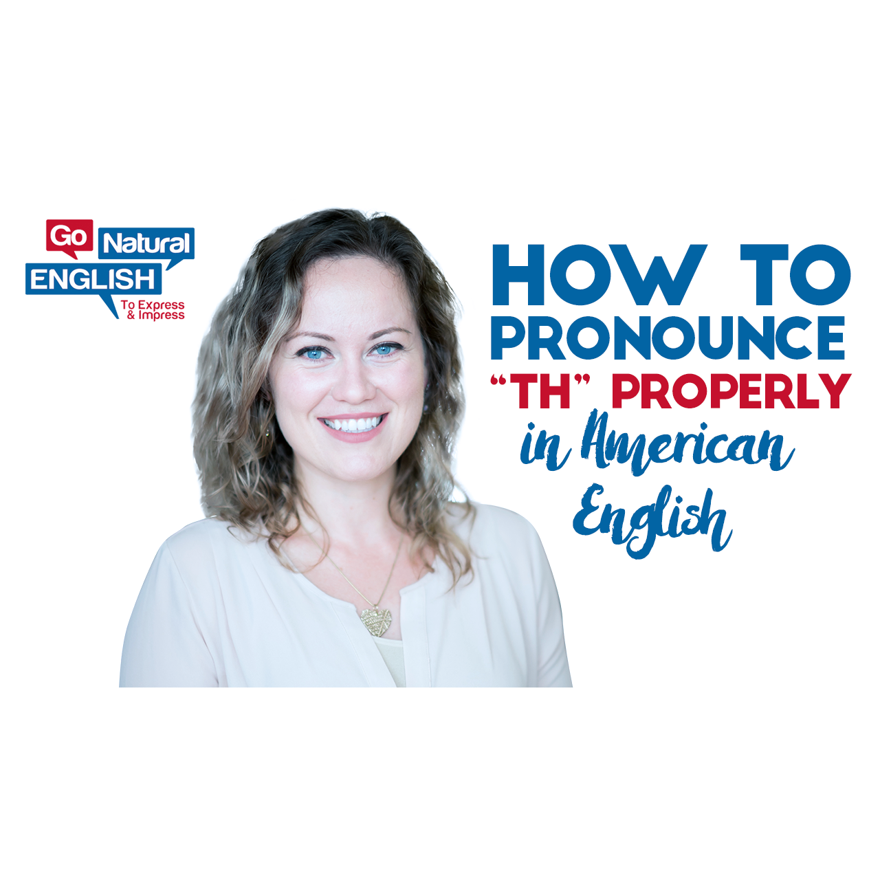 how to pronounce th properly in english